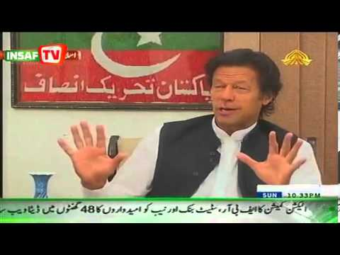 Imran Khan's Exclusive Interview 7th April 2013 on PTV Programme News Night With Sadia Afzaal