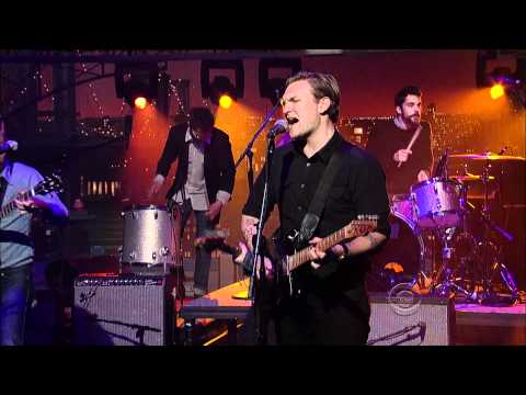 "(HD) Cold War Kids - ""Louder Than Ever"" 3/14 Letterman (TheAudioPerv.com)"