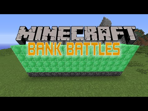 BANK BATTLE!! ( Minecraft Bank Battle Server Minigame w/ TheCampingRusher )
