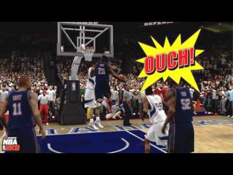 NBA 2K9: Lebron James Puts Duncan On Poster 10 08 2009