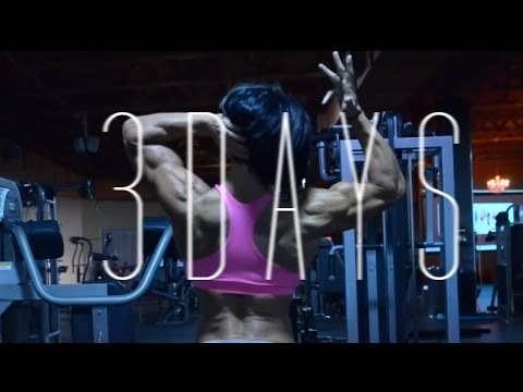 3 days from the stage | OLYMPIA 2014 | Dana Linn Bailey