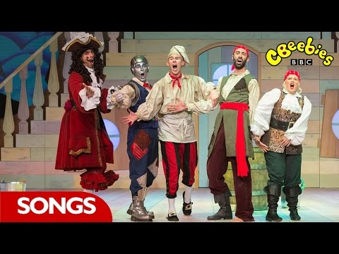 Peter Pan Tick Tock Croc Song - Cbeebies video