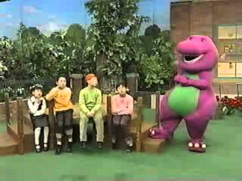 Barney - Colors All Around (Korean) (Part 1)