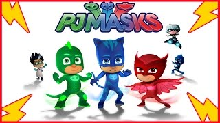 PJ Masks Draw Catboy Gekko Owlette Romeo Luna Girl PJ Masks, Fun Coloring Videos For Kids