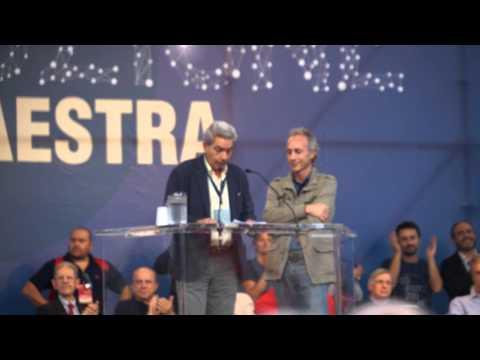 La Via Maestra Roma 12 10 2013   Antonio Padellaro e Marco Travaglio   CLANDESTINO 2013