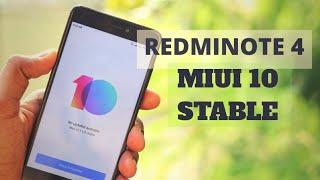 Redmi Note 4 MIUI 10 WHAT'S NEW?