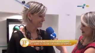 TV FAMA: Joelma Muniz entrevista a humorista Jacqueline Meirelles