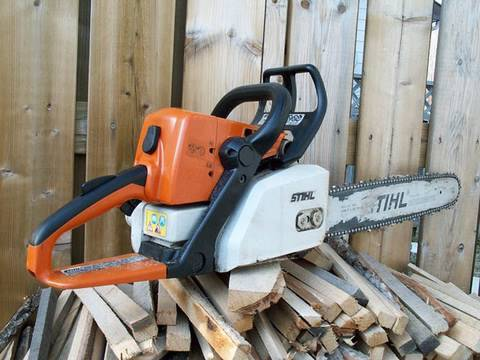 Repair of Stihl MS250 Chainsaw PARTIAL ENGINE REBUILD - Part 2 of 4