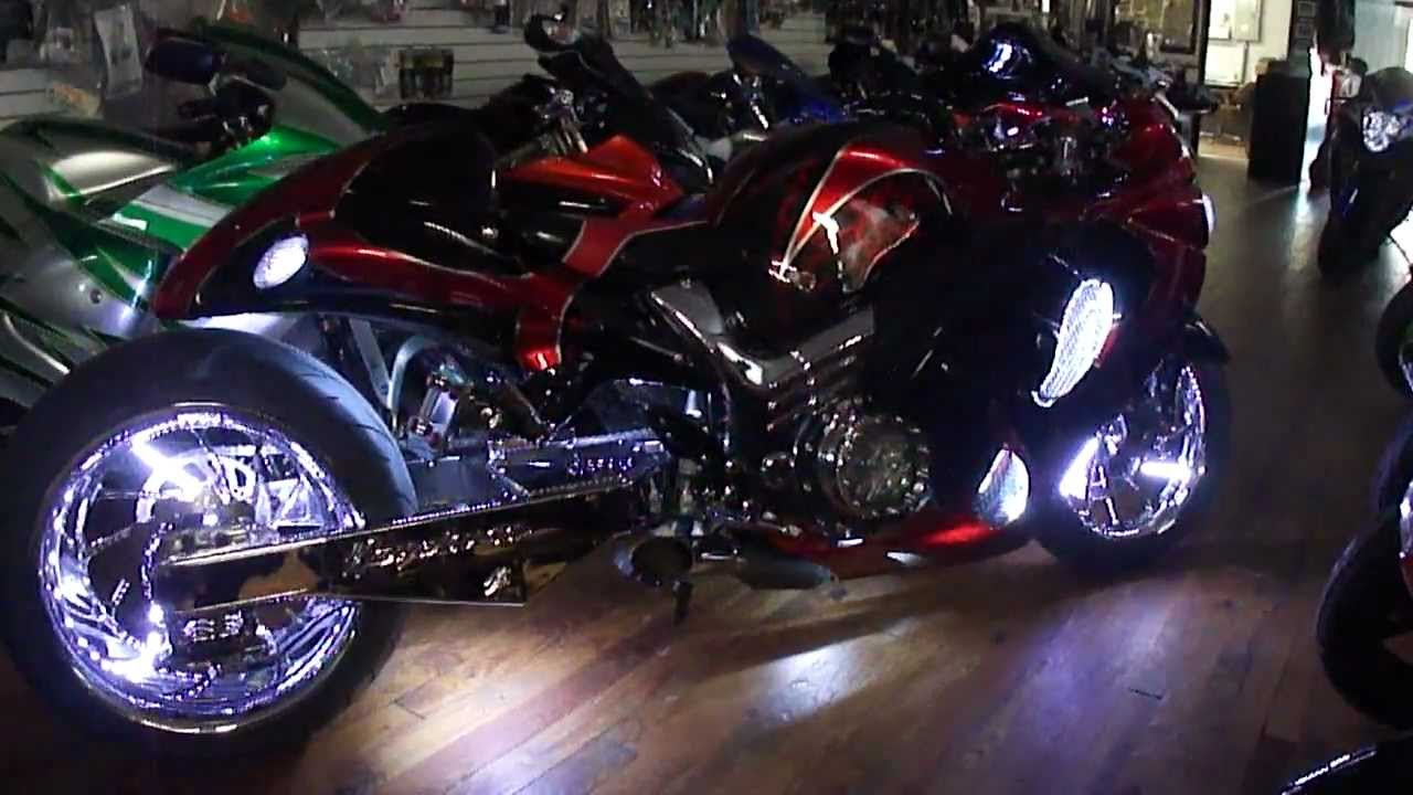 2011 Custom Suzuki GSXR 1300 Hayabusa Goliath By Garwood