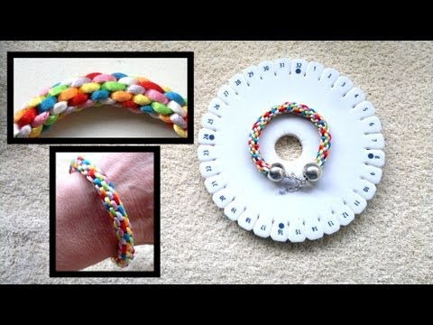 Beading4perfectionists : Kumihimo bracelet : basic braid beginners tutorial