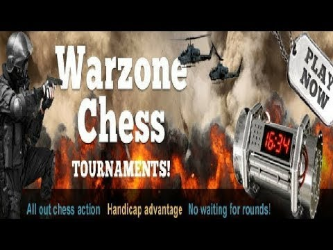 Bullet Chess: Chesscube Daily Warzone Final - 4th January 2013