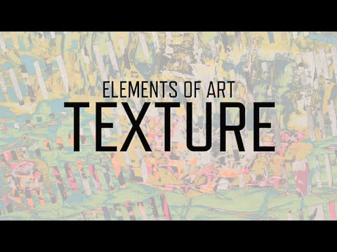 Elements Of Art Texture Kqed Arts Youtube