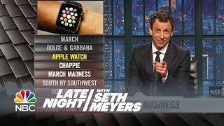 Ya Burnt: Dolce & Gabbana, March Madness - Late Night with Seth Meyers