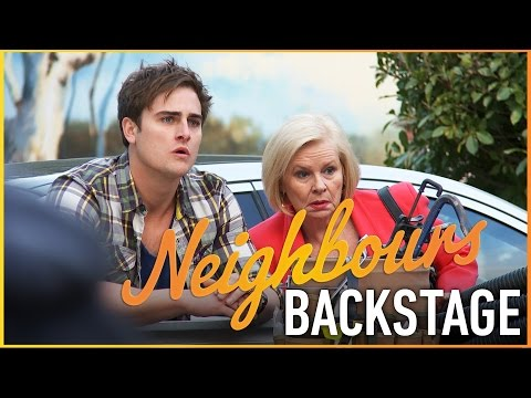 Neighbours Backstage - Colette Mann (Sheila Canning)