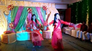 Ontu & mimi holud dance performance in Shaadi Wali Night