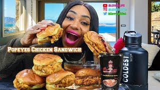 Popeyes Chicken Sandwich in Smackalicious Sauce/ CBS Sunday Morning Show is featuring me on the 24th