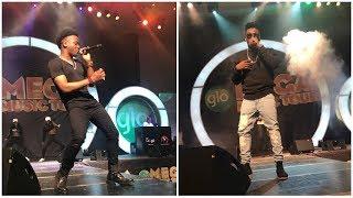 Highlights of Korede Bello and Reekado Banks Performing At The Glo Mega Music Tour