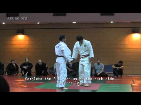Osoto gari, Murata Masao sensei - from AKBAN Dynamic Judo throws seminar Image 1