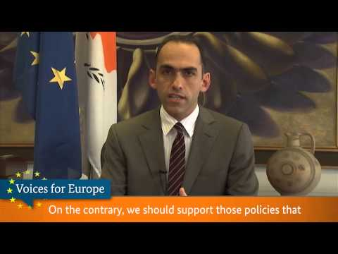 Voices for Europe: Harris Chr. Georgiades, Minister of Finance, Cyprus