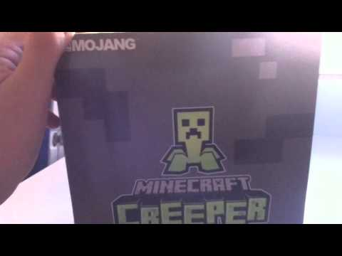 Pixelated Minecraft Creeper Unboxing