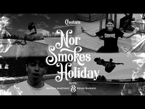 Creature's NOR Smokes Holiday with Bækkel & Martinez