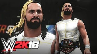 "WWE 2K18   ""The Crossfit Jesus"" Seth Rollins"