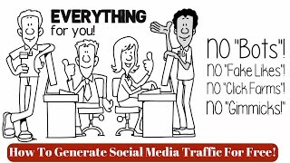 How to Generate Social Media Traffic For Free