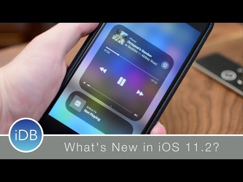 What's New in iOS 11.2: Apple TV Control Center Controls, New Wallpapers, & More