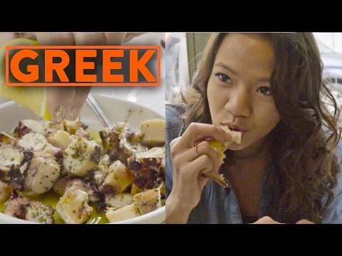 FUNG BROS FOOD: Greek Cuisine! (Mediterranean)