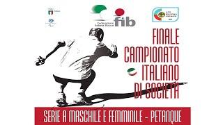 Petanque - Finale Campionato Italiano di Società