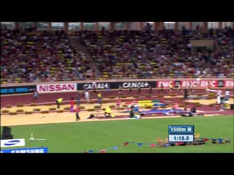 Asbel KIPROP 3:28.88 - 1500m Diamond League 2012 Monaco - MIR-La.com
