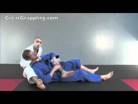 Back Control Submission Bow and Arrow Choke Image 1