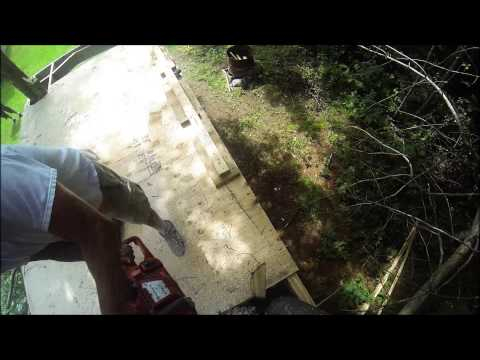 Hero 3:  Husqvarna Chainsaw  Cutting Tree Down Failure video