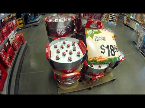 Coca Cola Party Tub at Home Depot
