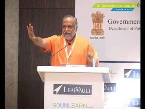 Shri. Swami Sukhabodhananda, Spiritual Guru Of The Country At Clo Summit India video