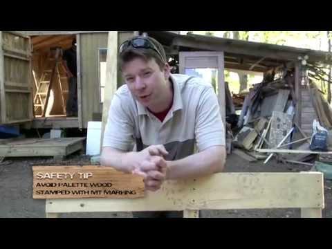 Salvage Cabins/Tiny House 2012 TV Show Pilot with Deek Diedricksen