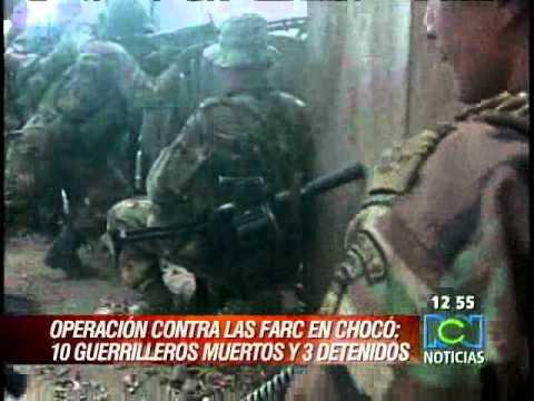 10 guerrilleros muertos deja operación contra frente 30 de las Farc en Chocó  RCN