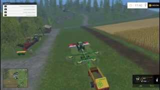 Farming Simulator 2015 Claas Windrower Mod