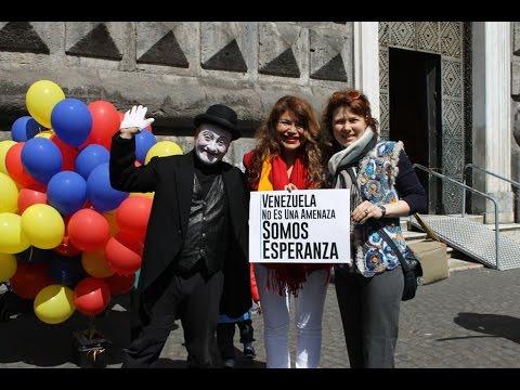 Flash mob a Napoli 28 marazo 2015
