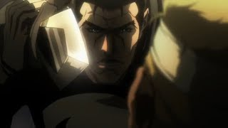 Punisher: Cain! I'll put a knife in you!
