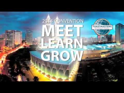 Register for the 2014 Toastmaster International Convention in Kuala Lumpur, Malaysia
