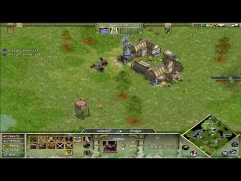 Avance Oranos 7 aldeanos Age Of Mythology The Titans