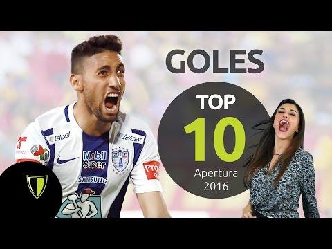 TOP 10 GOLES - Liga MX Apertura 2016