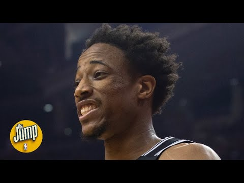 Did DeMar DeRozan's dunk on the Raptors seem personal? | The Jump