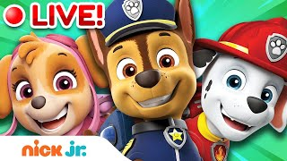 🔴LIVE: Best of Paw Patrol! | Songs, Fun & More!