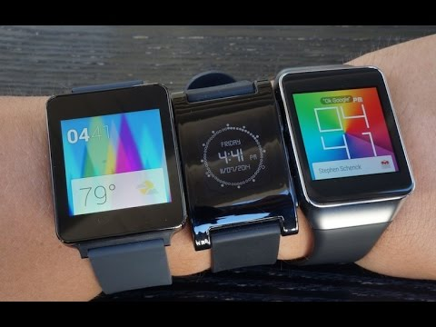 Android Wear vs Pebble Smartwatch