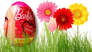 Barbie Surprise Eggs Unboxing with Toys for Girls Only