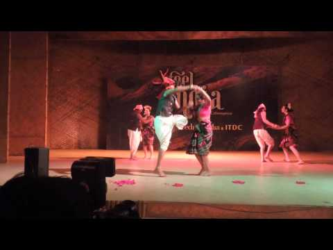 Sambalpuri  Folk Dance Nrityanjali 4th April-2014 New Delhi video