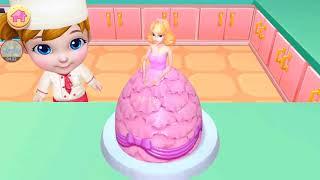 Real Cake Maker 3D | Game anak memasak Android gameplay