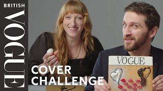 The Vogue Cover Challenge With The BFC/Vogue Designer Fashion Fund Nominees | British Vogue